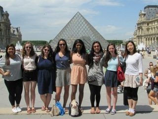 A visit to the Louvre.