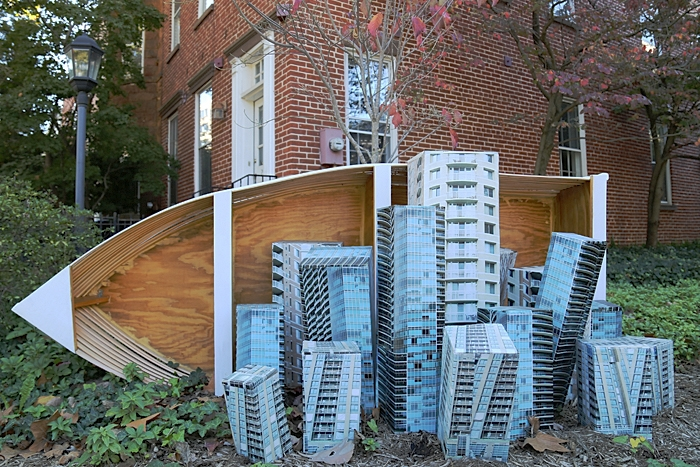 Building Aground by Rachel Schmidt - 835 25th St. NW.
