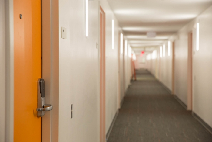 hallway in District House
