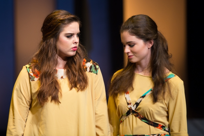 As the play progresses, Diana confronts her alter ego Ana, played by Kait Haire.