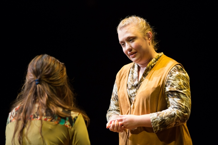 Gran, played by Bekah Eichelberger, comforts Diana as she struggles with her self-image.