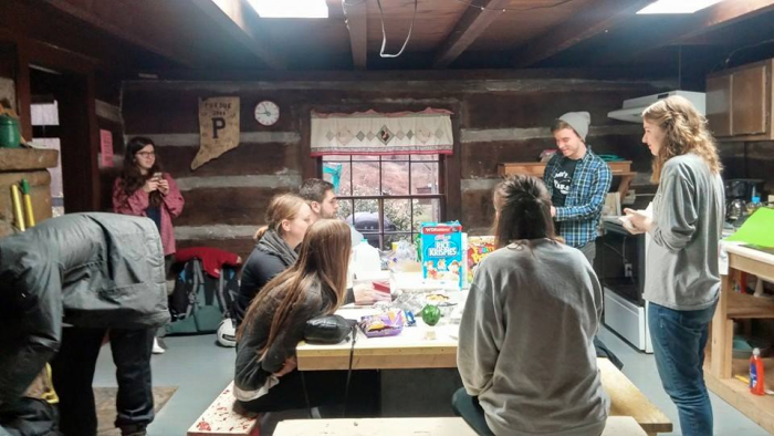 Alt Break participants in Harlan County, Ky., worked with COAP to provide quality, sustainable housing for low-income families.