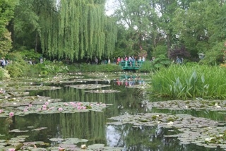 Monet's gardens in Giverny.