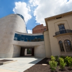 The new George Washington University Museum and The Textile Museum boasts 46,000 square feet of space with the renovated Woodhul