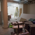 Corcoran Renovations Underway