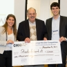 Undergraduate third place winning team StudentStart.it led by Christina Nanfeldt and Michael Rickert