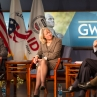 Ms. Hesseler-Radelet, Amb. Stevens, Dr. Shriver and Ms. Mayne