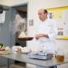 Mr. Donis emphasized light cooking that preserves the