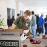 The locally sourced produce was donated by Sodexo, Blue Ridge Produce, Body Fuel Crunch and other businesses.
