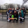 In Washington, D.C., students spread awareness about sexual violence and domestic abuse. (Photo courtesy Diana Wilkinson)