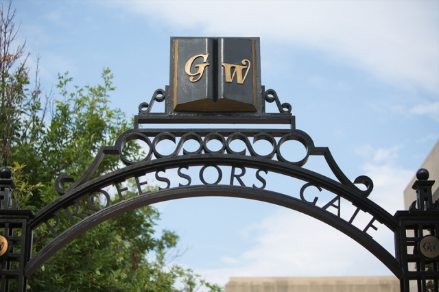 Image of GW Professors' Gate
