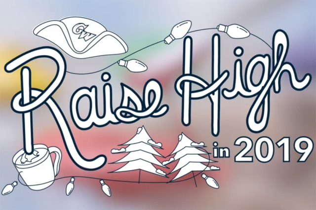 GW Holiday Video: Raise High in 2019