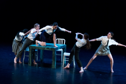 image of the Fall Dance Concert