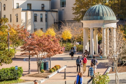 Undergraduate Applications to GW Rise More Than 28 Percent