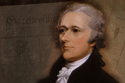 Contemporaneous newspaper sources reveal where citizens got their ideas about Alexander Hamilton. (Images via The George Washing