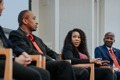 2019 Capital Markets Program Scholars panel