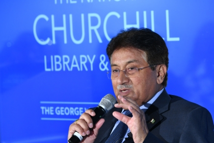 Pervez Musharraf was president of Pakistan for eight years. (Eddie Arrossi Photography)