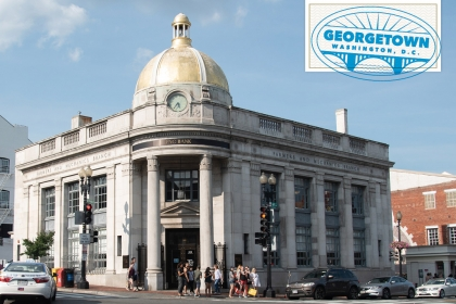 Getting to Know the DMV: Georgetown (image of M Street in Georgetown)