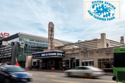 The AFI Silver is a cultural destination in Silver Spring, Md.