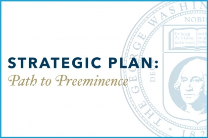 Strategic Plan Path to Prominence with university seal
