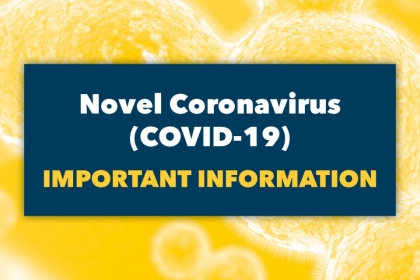 COVID-19 Important Information Graphic