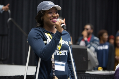 Sakiya Walker announced that she will attend GW. (William Atkins/GW Today)