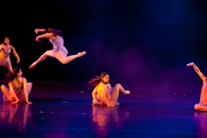 students performing in Danceworks