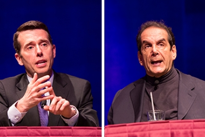 Only at GW Debate with Davide Plouffe and Charles Krauthammer