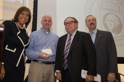 Winners rewarded for contributions to George Washington University beyond their job requirements.