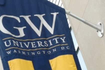 GW banner: The George Washington University, Washington, DC