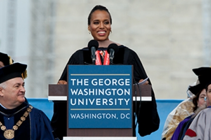 Commencement Speaker Kerry Washington