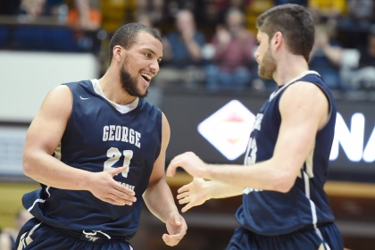 Colonials Advance to NIT Semifinals