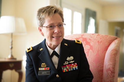 Brigadier General Tammy Smith. (Photo: William Atkins)