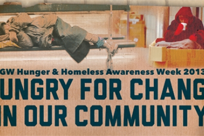 Hunger and Homelessness Week