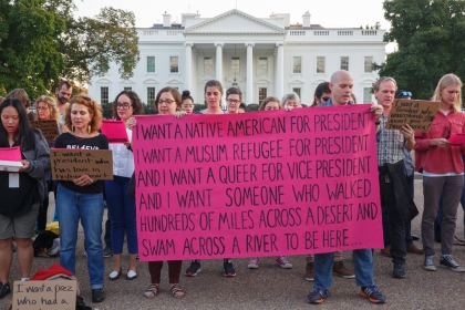 I want a president...