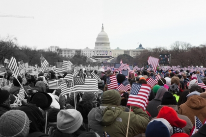 Every four years, GW gets a close-up view of Inauguration Day. (Rick Reinhard/GW Today)