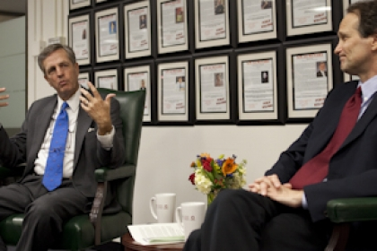 Dr. Feldstein and Brit Hume discussing book