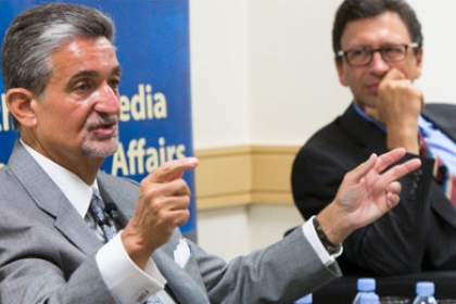 Ted Leonsis and Frank Sesno