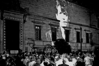 """Protest of the cancellation of """"Robert Mapplethorpe: The Perfect Moment,"""" June 30, 1989, Washington, D.C. (Frank Herrera)"""