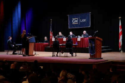 2020 Van Vleck Moot Court Competition