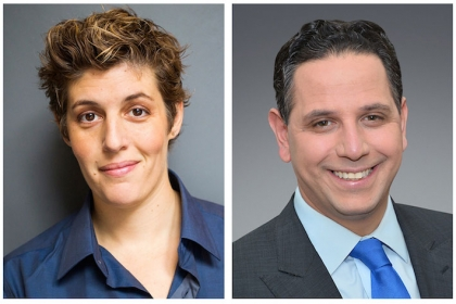 Sally Kohn, Tony Sayegh