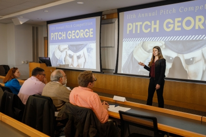 Pitch George competition