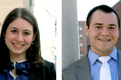 student association gw new president and vice president