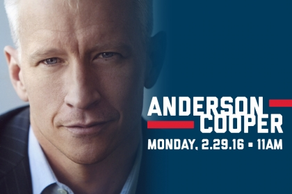 Anderson Cooper to Discuss Politics, Career at GW