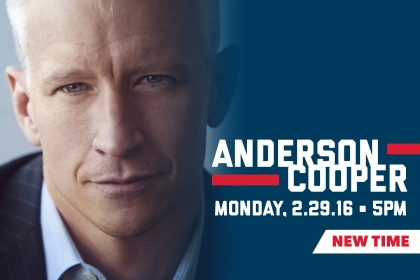 Start Time Changed for Anderson Cooper Visit to GW