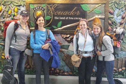 GW Students Travel to Ecuador to Ask, 'Is There a Dark Side to Chocolate?'