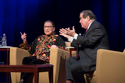 Justices Ginsburg and Scalia: An Unlikely Bond