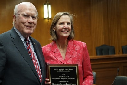 Walter Roberts Award for Congressional Leadership in Public Diplomacy.