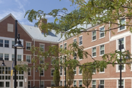 exterior of West Hall
