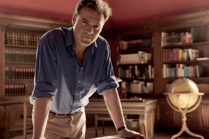 Historian and author Niall Ferguson. (Photo courtesy author's archive)